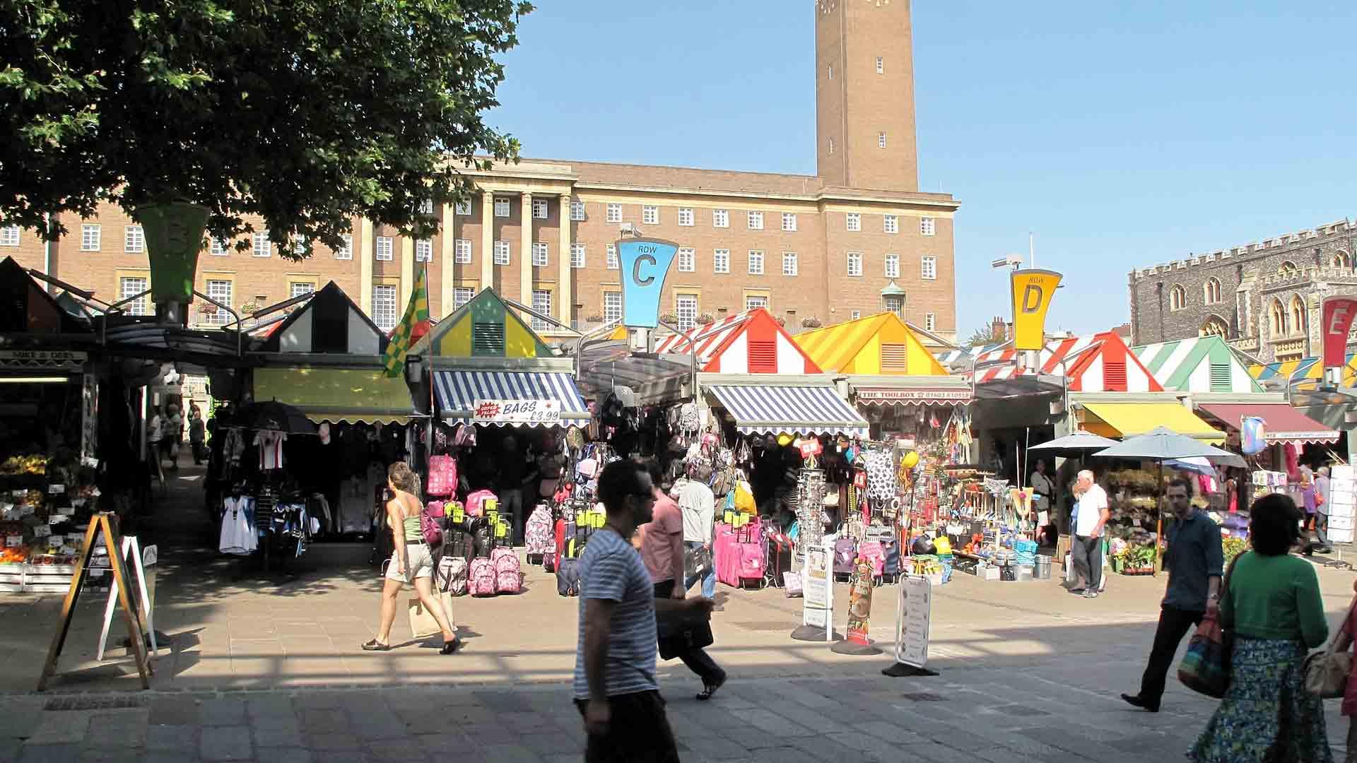 Norwich Market Gentlemens Walk