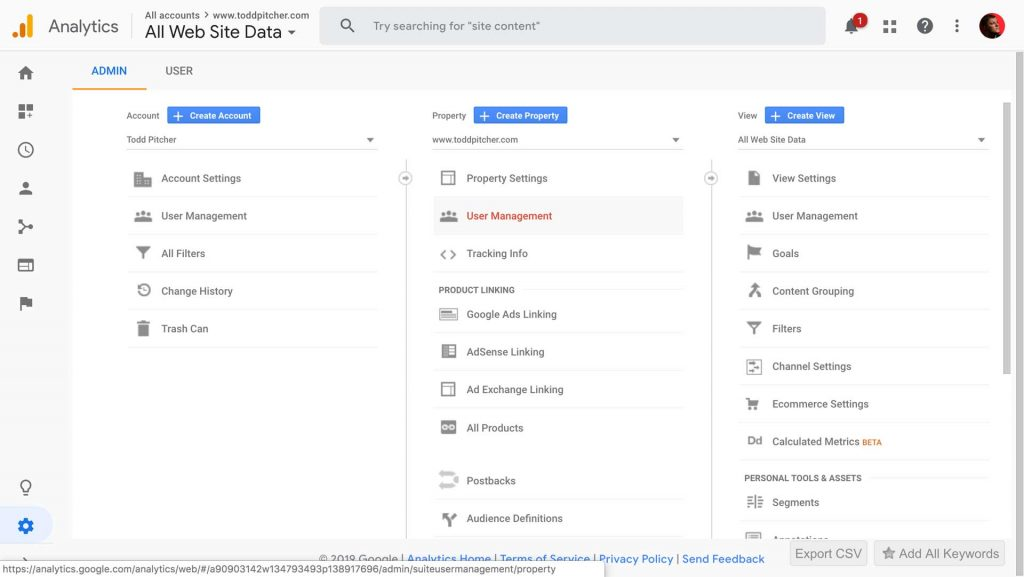 How to Add a User to Google Analytics 3