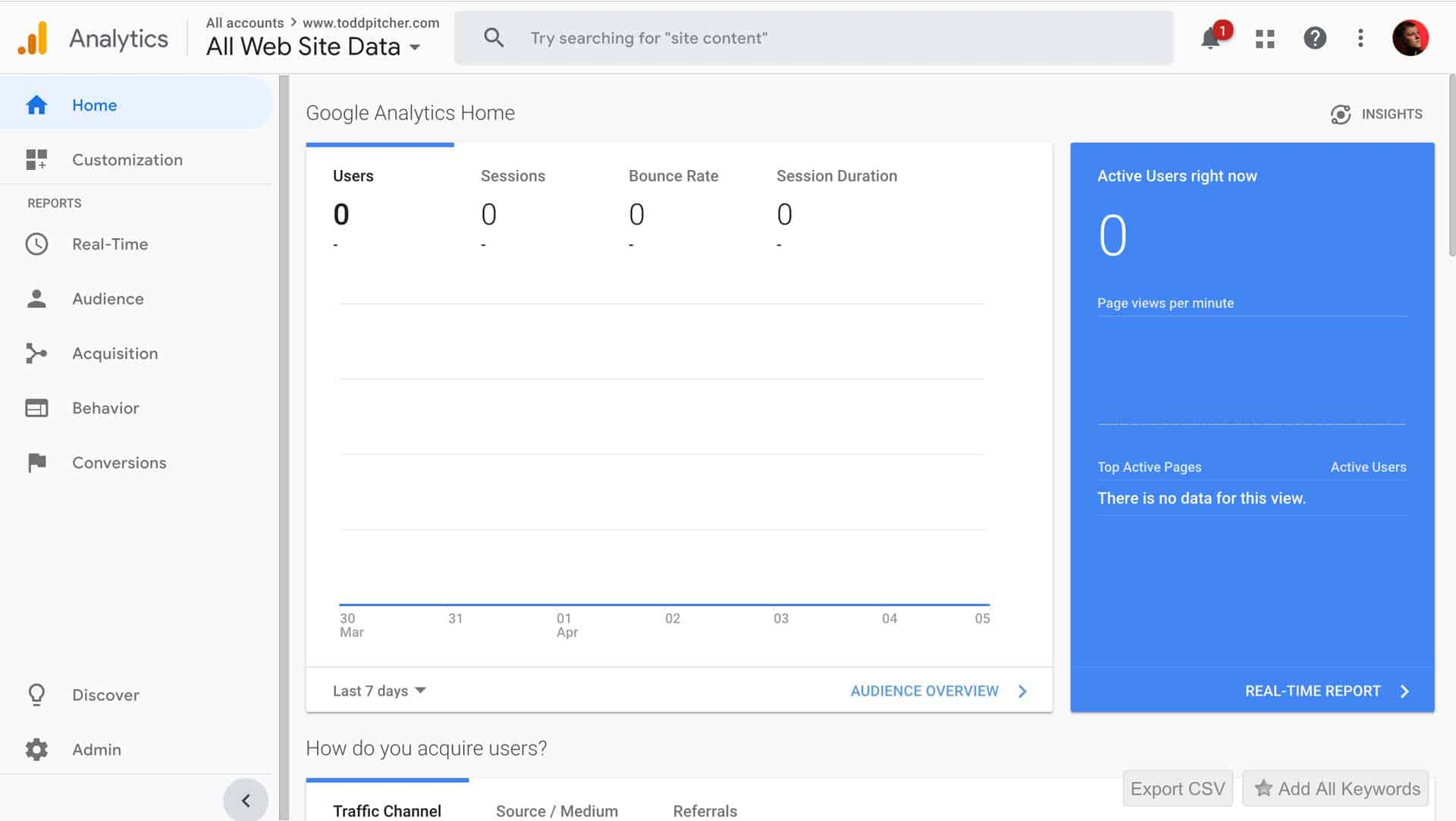 How to Add a User to Google Analytics 1