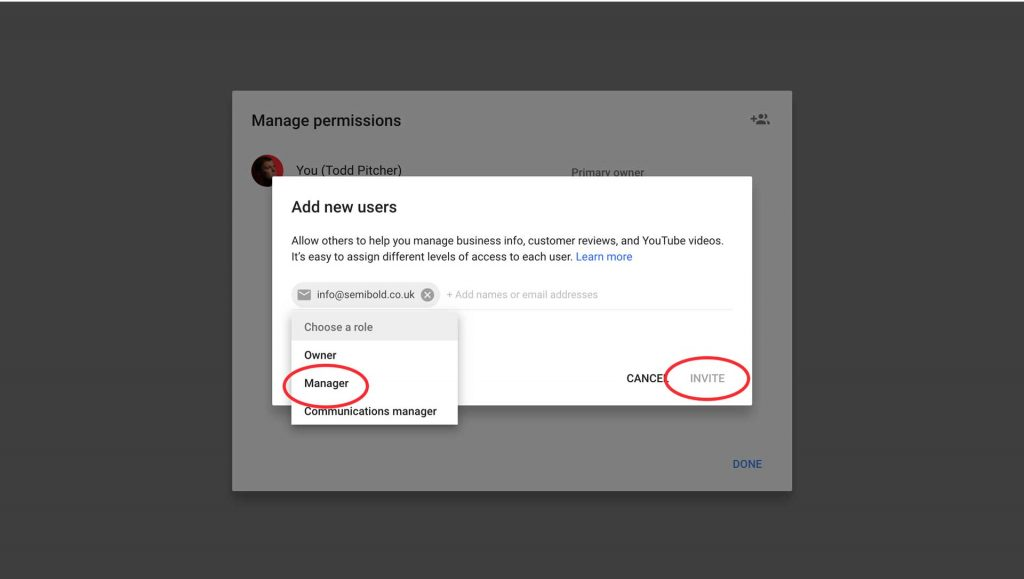 How to Add a User to Google My Business 2