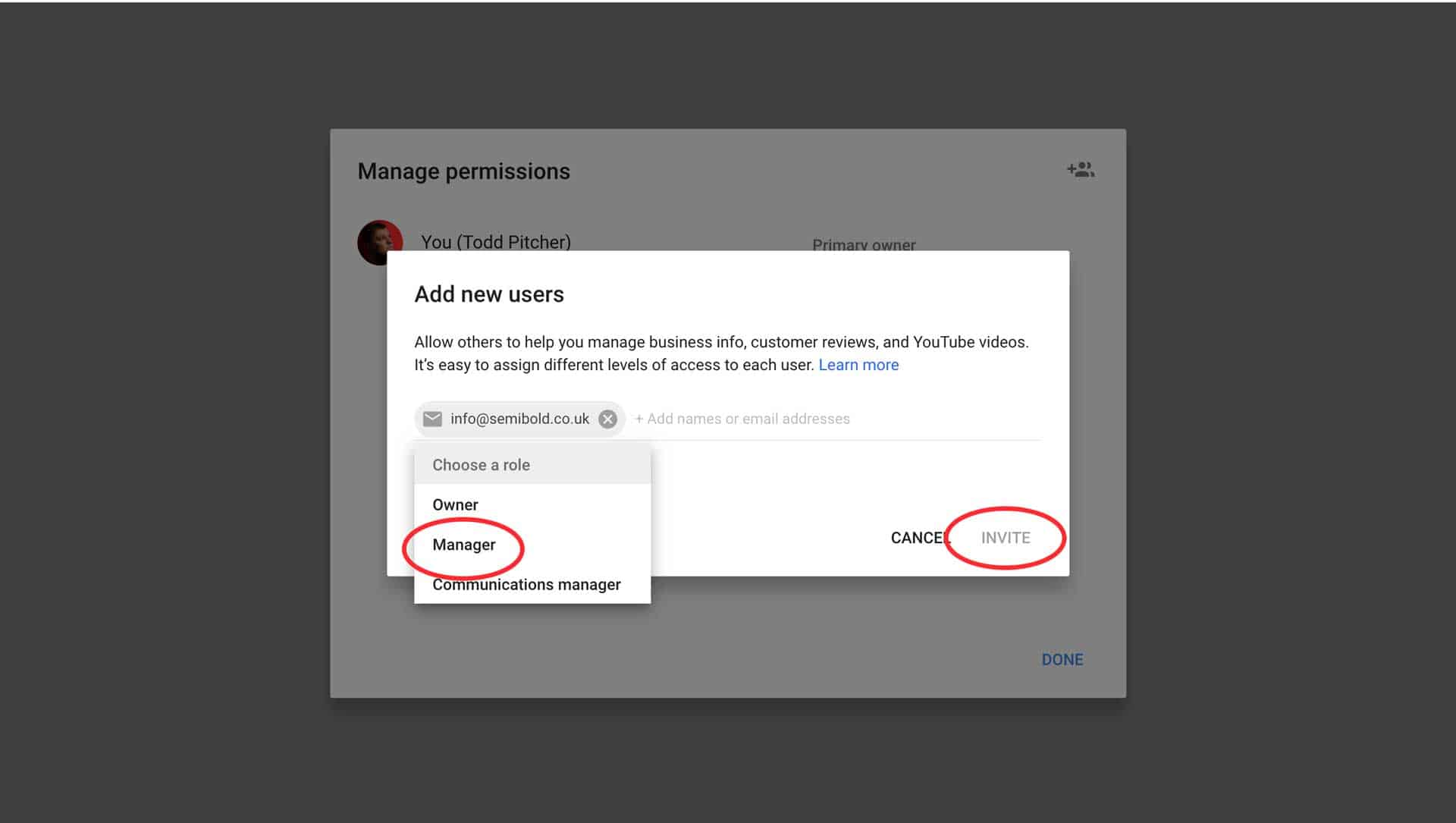 How to Add a User to Google My Business 3