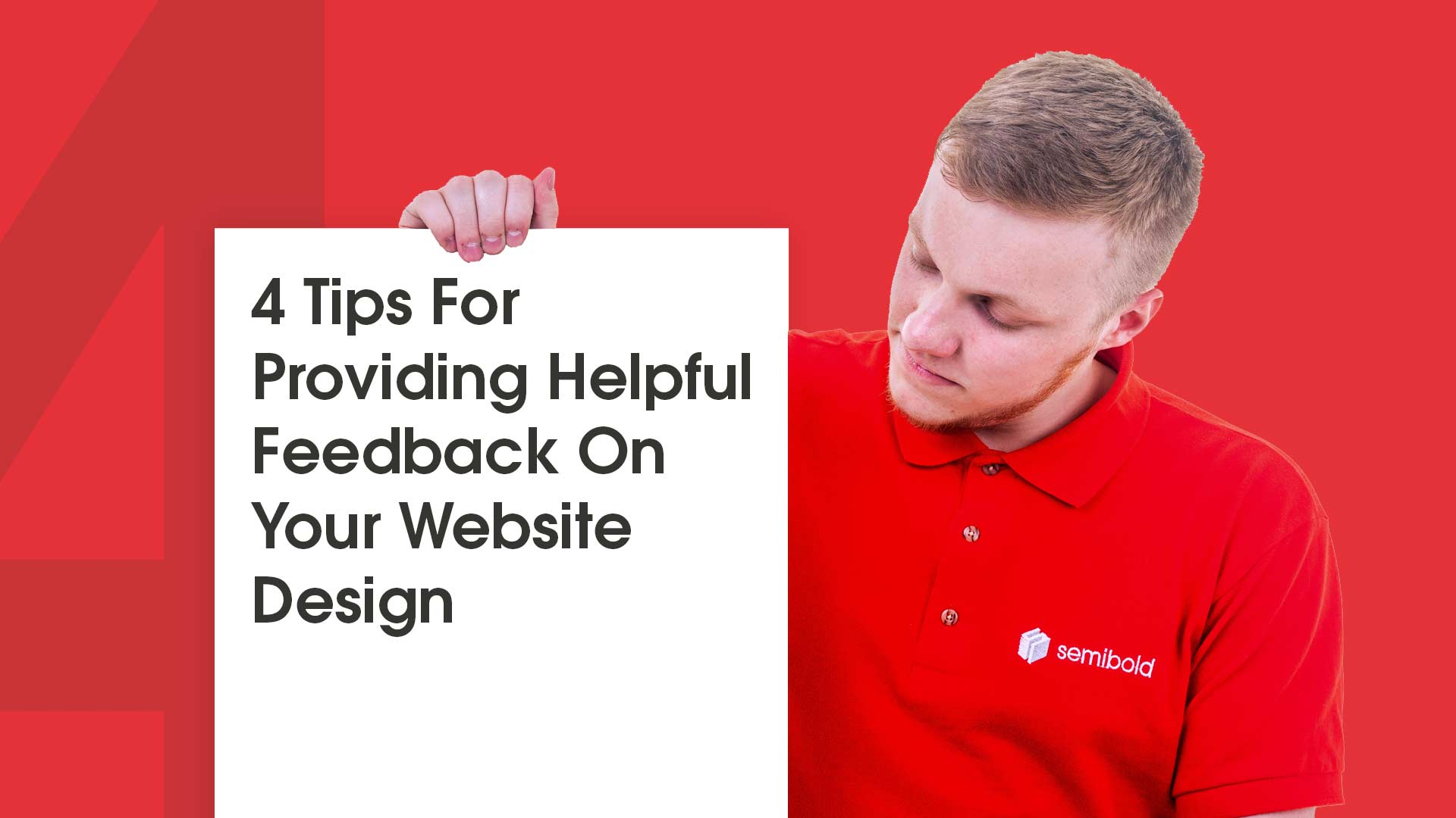4 Tips For Providing Helpful Feedback On Your Website Design 3